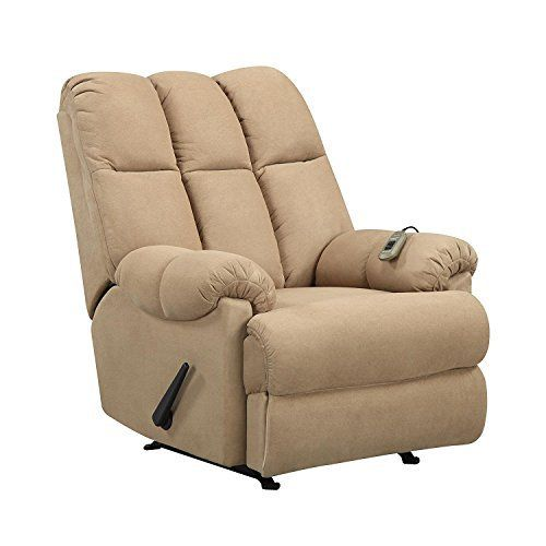 Enjoy this Padded Massage Rocker Recliner with dual massaging and full comfort. This large-size reclining rocking chair is perfect for any home. The over-filled design of this massage rocker recliner with padded arms, smooth reclining and rocking will meet all of your relaxation needs. Octosuite... more details available at https://furniture.bestselleroutlets.com/children-furniture/chairs-seats/recliners/product-review-for-dorel-living-padded-dual-massage-recliner-tan/