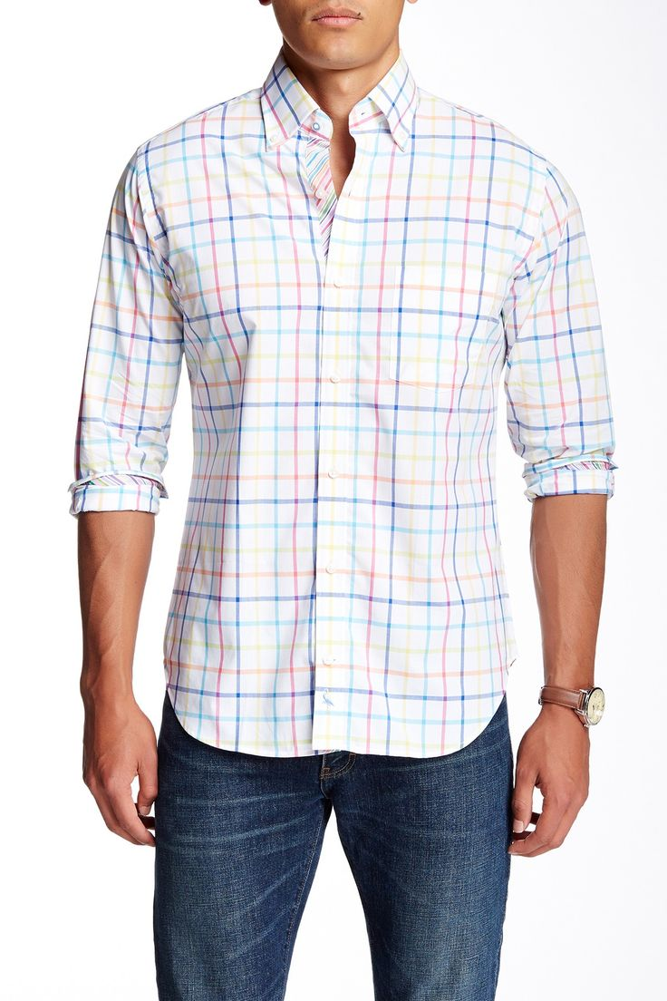 Window Pane Plaid Long Sleeve Shirt by TailorByrd on @nordstrom_rack