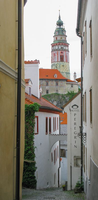 Castle, Cesky Krumlov - UNESCO World Heritage site, Czech Republic Copyright: Roger Lipsett