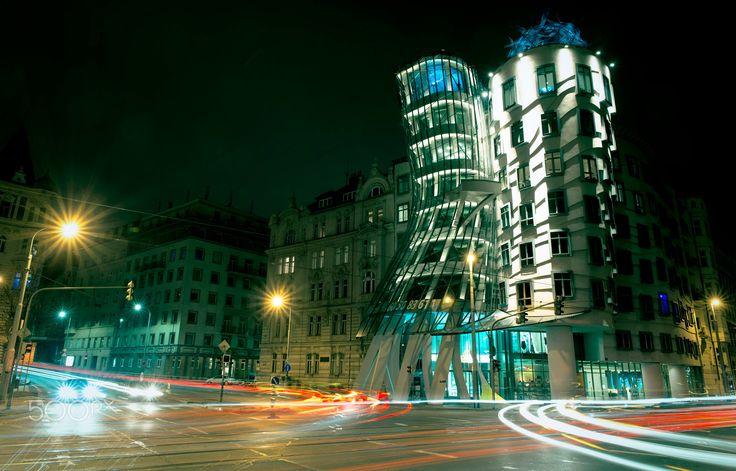 Dancing house - Prague treasures