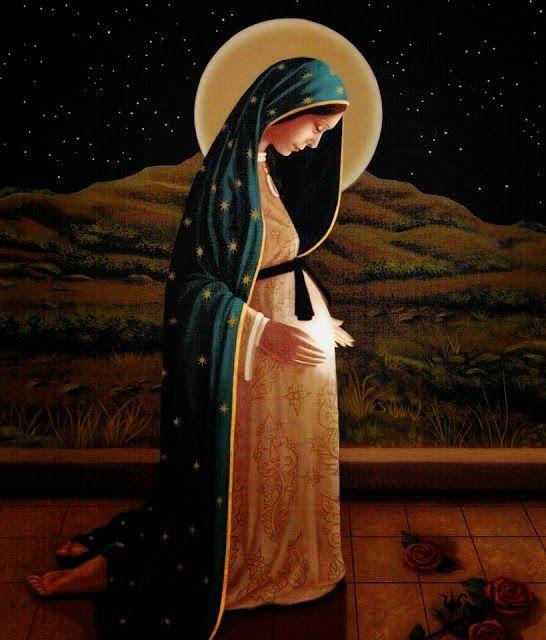ORACIONES A TODAS LAS VIRGENES: Oraciones y Novena a la Virgen de la Dulce espera para lograr un embarazo