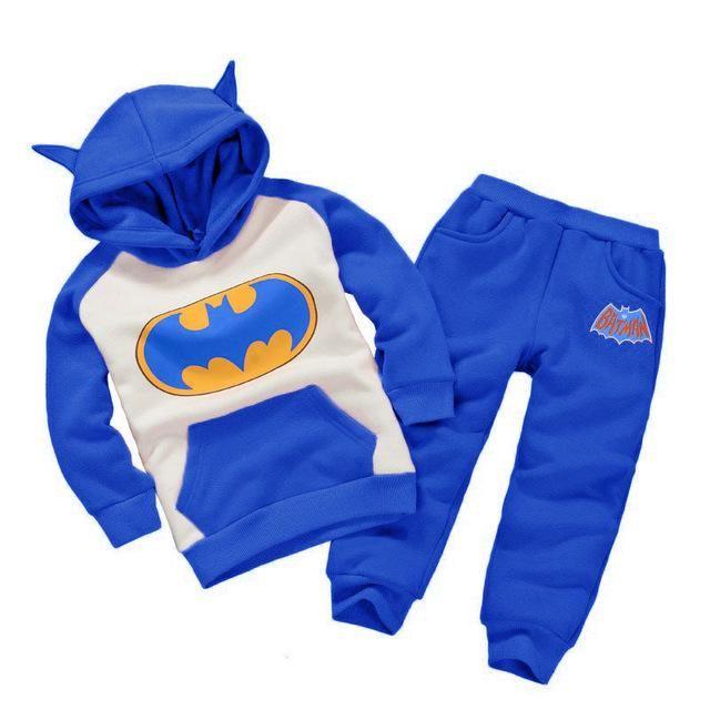 Boys Batman Costume - Hoodie + Pants