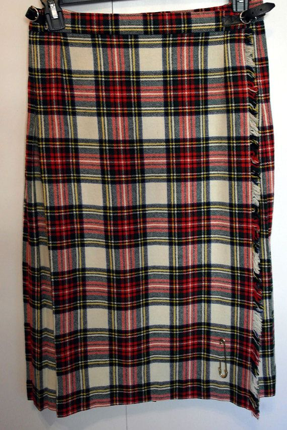 Vintage Ladies Traditional Wool Kilt By GorRay by SunDazeVintage, €12.99