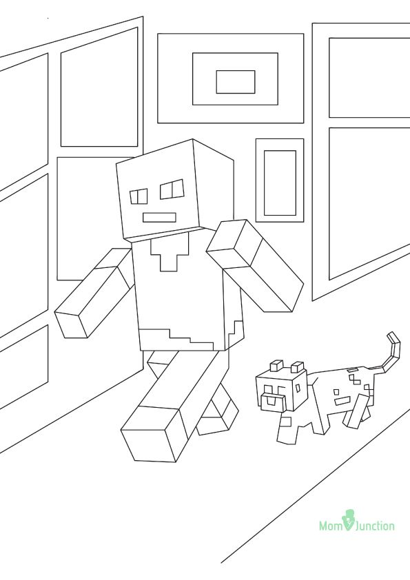 37 Free Printable Minecraft Coloring Pages For Toddlers Minecraft Coloring Pages Coloring Pages Cool Coloring Pages