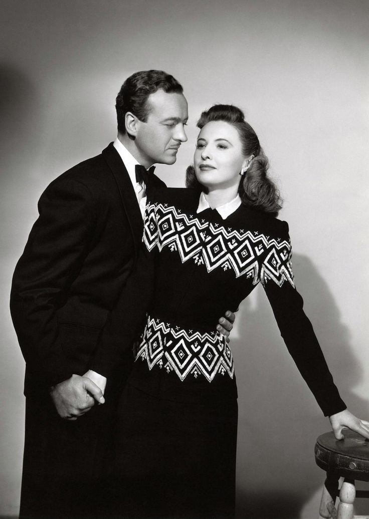 Femme fatale outfits inspired in the classic style of French actress Barbara Stanwyck