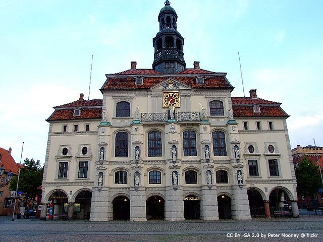 Rathaus Lüneburg / Lueneburg Townhall - stunning interiors | more pics on blog