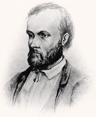 Aleksis Kivi (10.10.1834–31.12.1872) Drawing by Albert Edelfelt. A.Kivi was a Finnish author who wrote the first significant novel in the Finnish language,'Seven Brothers'. Although Kivi was among the very earliest authors of prose and lyrics in Finnish language,he is still considered one of the greatest of them all. 1859 he was accepted into the University of Helsinki, where he studied literature. Finland