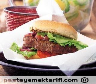 Baharatlı Biftek Burger resimli yemek tarifi, Aperatifler, Kahvaltılık, Salatalar tarifleri
