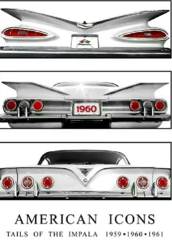 Impala Tails - Appreciated by Motorheads Performance www.classiccarssanantonio.com