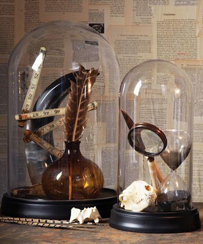 Glazen stolpen zijn HET helemaal dit jaar en ook tijdens de feestdagen doet hij het gi-ga-glorieus.