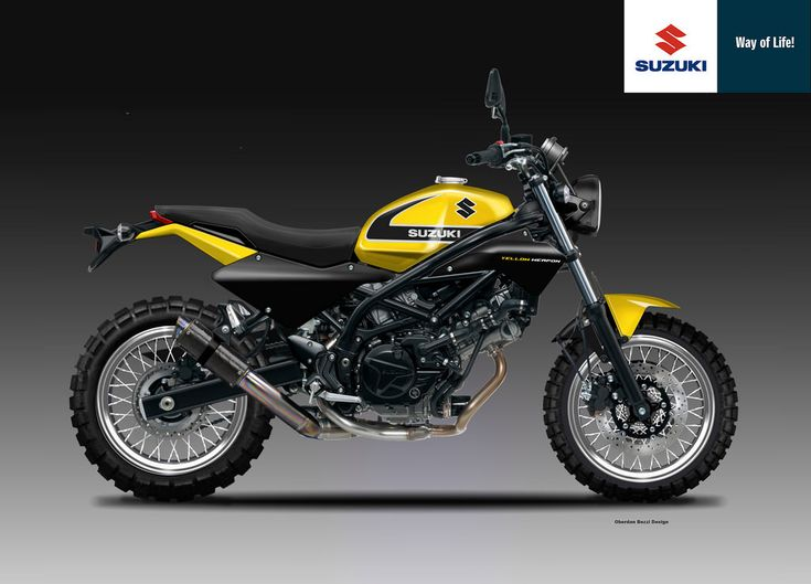 SUZUKI SV 650 SC YELLOW WEAPON SERIES by obiboi on DeviantArt