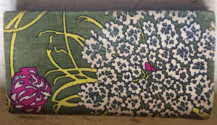 Vintage EMILIO PUCCI portafoglio in velluto verde giallo rosa, originale 1960 by inlove4vintage on Etsy