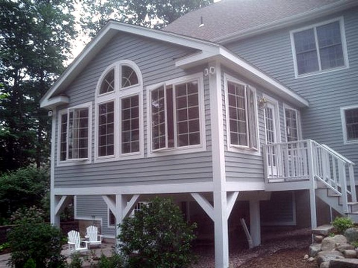 8 best what is a raised ranch house style images on for Sunroom addition floor plans