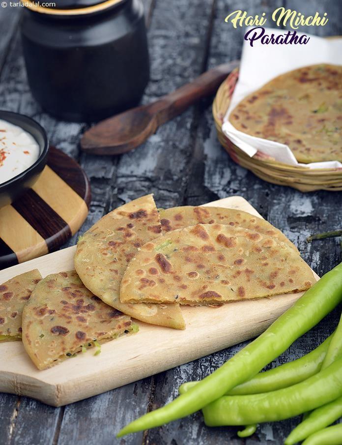 12 best delhi street food images on pinterest indian food recipes hari mirchi paratha green chilli paratha forumfinder Images