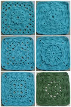 365 Granny a day project done by The Jewell's Handmade - Photos and Links to…