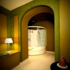 Doccia doppia #Jacuzzi #idromassaggio in Fiammetta #Wellness #Suite @CastleOfAngels
