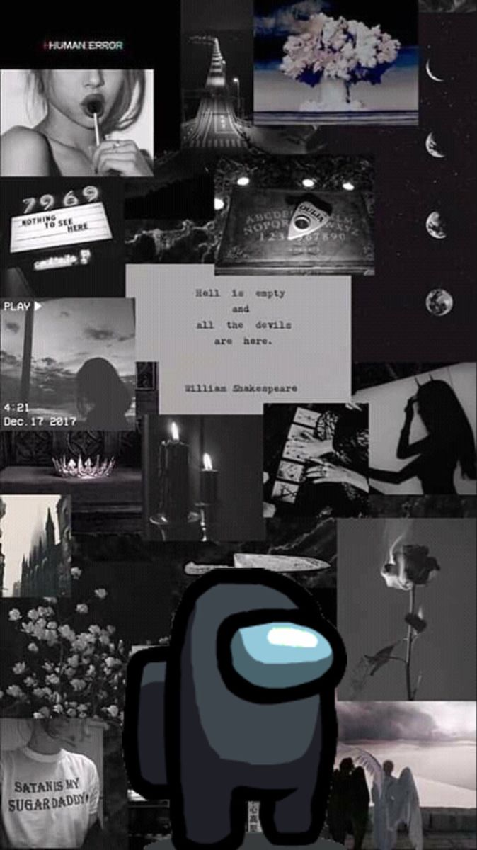 Among Us Black In 2020 Aesthetic Iphone Wallpaper Iphone Wallpaper Tumblr Aesthetic Black Wallpaper Iphone