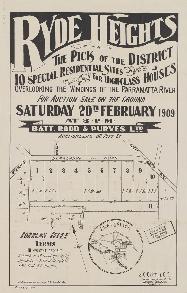 1909 Auction