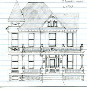 Best Line Drawings Of Houses Images On Pinterest Draw Hand