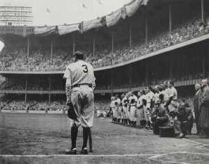 """Baseball became """"Americas Pastime"""" in the 1920's as people began to have time and an interest in watching sports."""