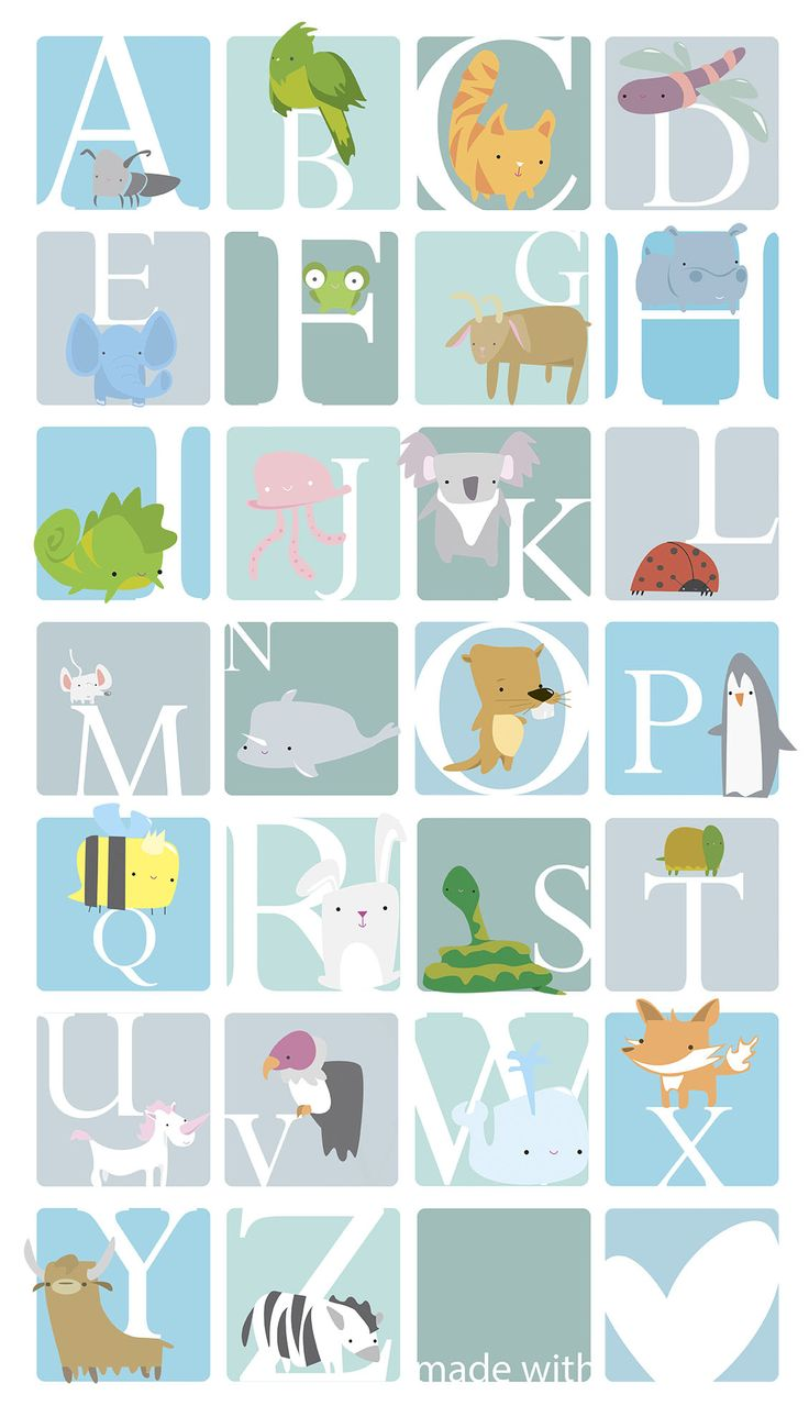 Free printable. Animal abc english- spanish-catalan version