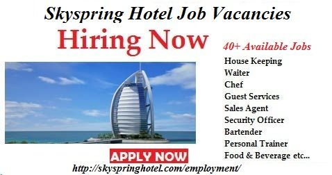 Job Vacanicies  The management of Skyspring Hotel is currently - laundromat attendant sample resume