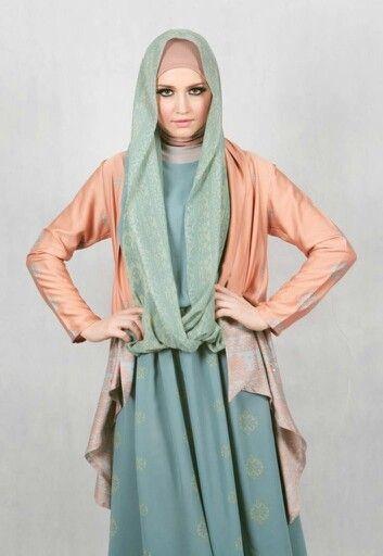 hijabi greeny to leaf