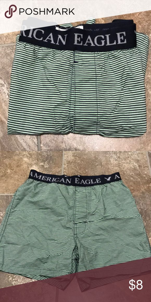 American Eagle Striped Boxers American Eagle Striped Boxers  Lightly worn (few times) and clean American Eagle Outfitters Underwear & Socks Boxers