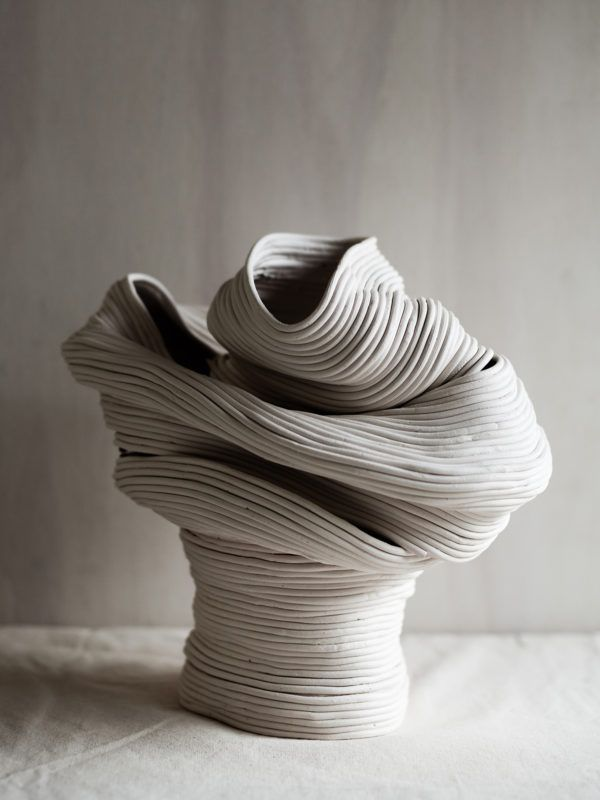 Zhu Ohmu ceramics vessels. Styling – Nat Turnbull. Photo – Amelia Stanwix.