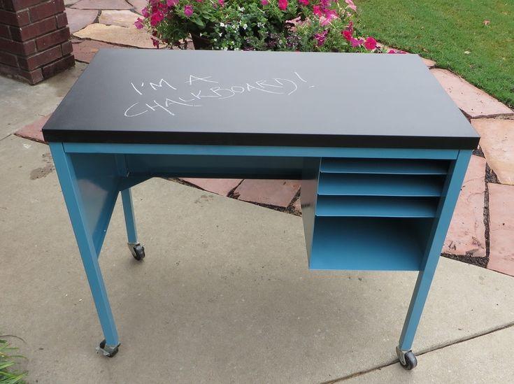 Image result for painted metal desk