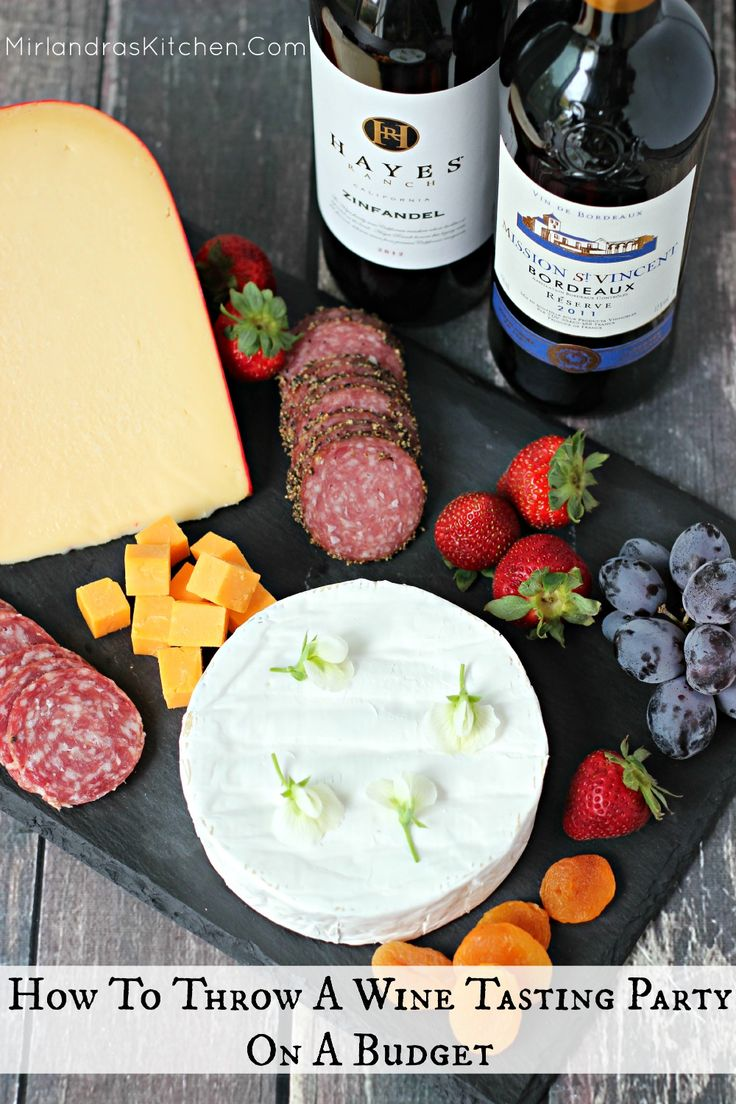 Everything you need to know to throw a great wine tasting party on a budget.  The post includes free printables you can customize for your own party!