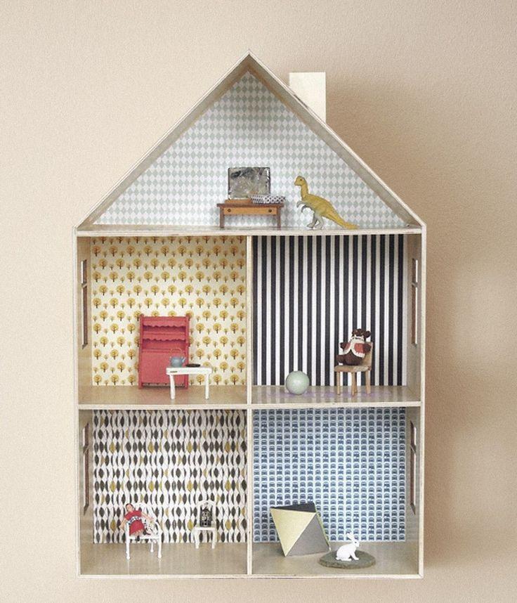 9 besten puppenhaus renovieren bilder auf pinterest puppenh user renovieren und puppenstube. Black Bedroom Furniture Sets. Home Design Ideas