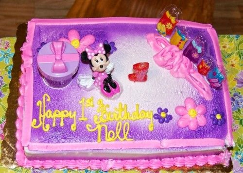 Minnie Mouse Birthday Cakes Publix Minnie Mouse Birthday