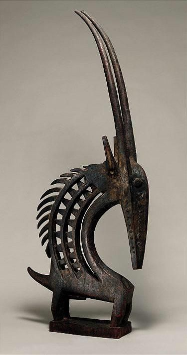 Chi-wara, one of my favorite art forms.  I own three, may add to the collection one day.