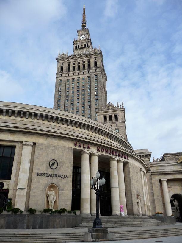 Sala Kongresowa w zespole z Pałacem Kultury i Nauki