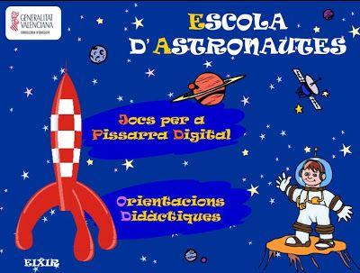 """La CASETA, un lloc especial: """"Escola d'astronautes"""""""