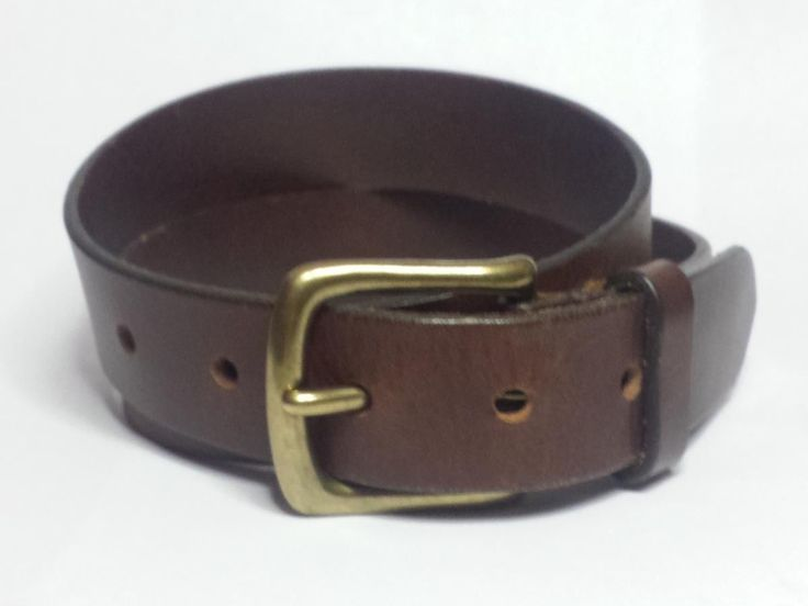 #Gap men's leather belt size 28 brown color solid brass buckle madein USA visit our ebay store at  http://stores.ebay.com/esquirestore