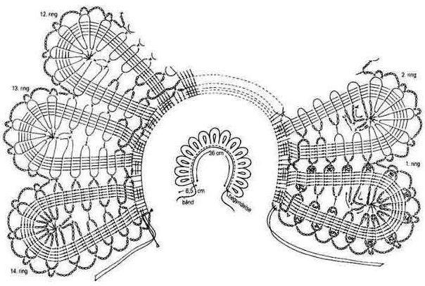 Mis Pasatiempos Amo el Crochet: 40 Cuellos con patrones gratis