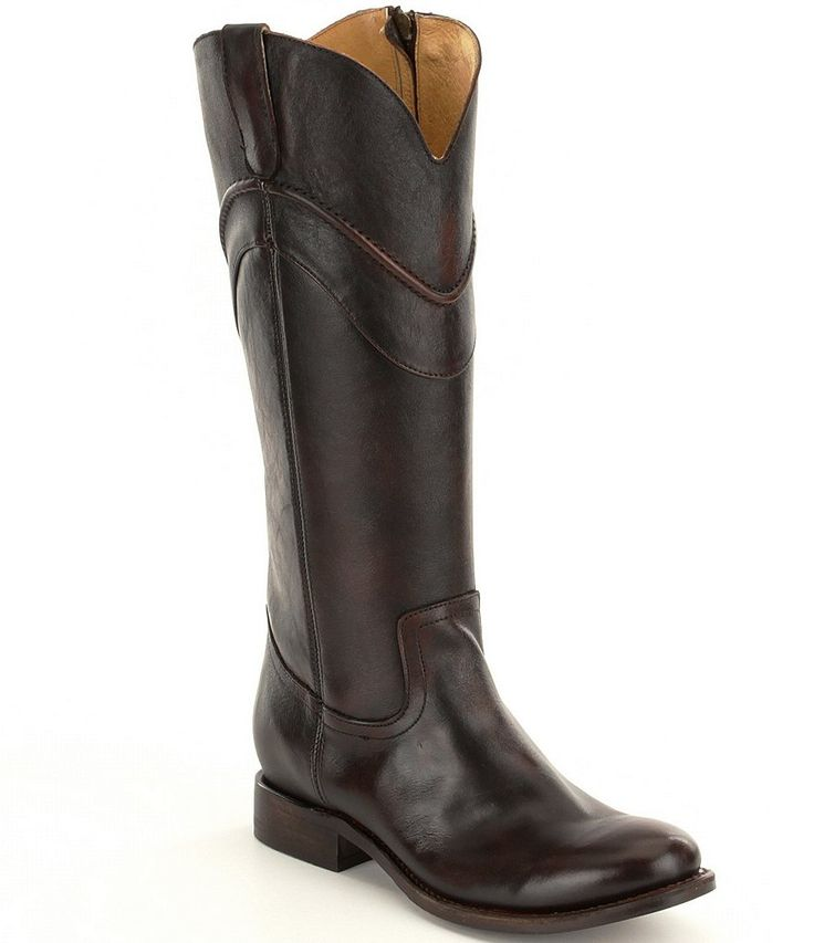 Justin Boots Stonewashed Tapered Boots