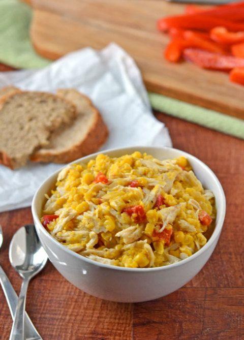 corn cheese chowder corn chowder with chilies corn chowder with ...