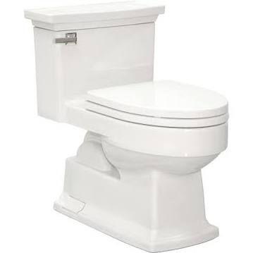 Toto Cotton White Eco Lloyd Elongated One Piece Toilet, 1.28 GPF MS934214EF