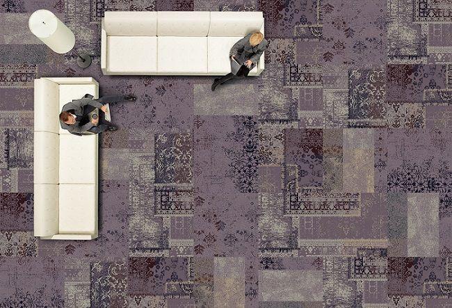 Interface Hospitality Modular Carpet Tiles Via Interior