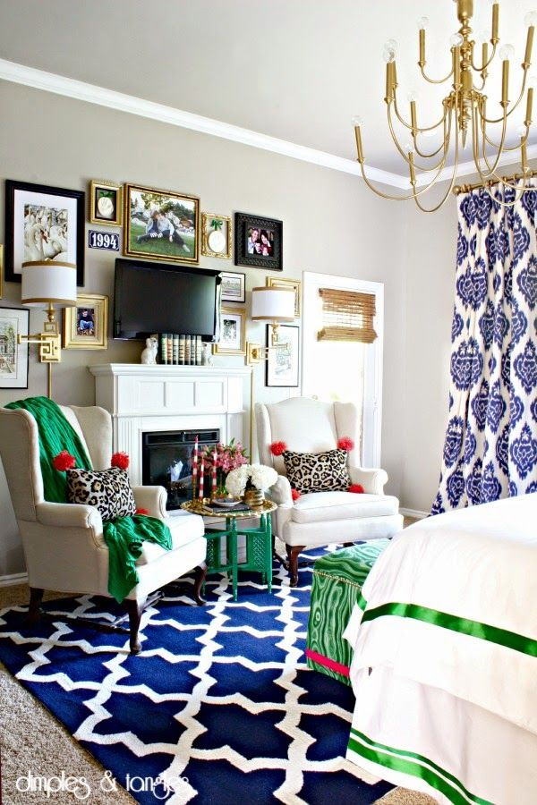 Color Accents For Moth Wing Living Room