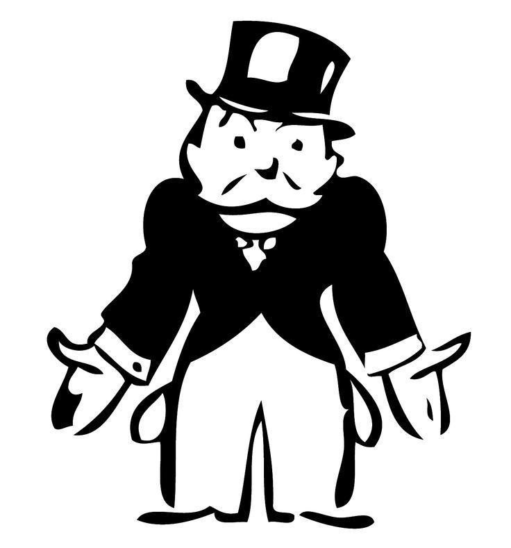 Image result for cartoon moneybags broke
