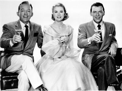 Bing Crosby, Grace Kelly, Frank Sinatra from High Society (1956)