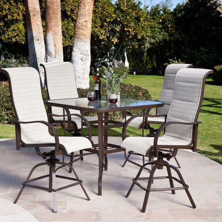 best 25 bar height patio set ideas on pinterest patio table sets patio set up and back raises. Black Bedroom Furniture Sets. Home Design Ideas