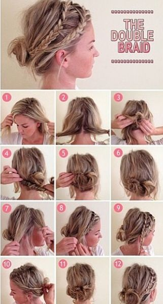 Hair style #hair #style #hairstyle #bun #hair #style #hairstyle #color #haircolor #colorful #women #girl #style #trend #fashion #long #natural #tutorail #how #braid #bun