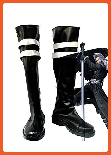Final Fantasy VII FF7 Sephiroth Cosplay Shoes Boots Custom Made 2 - Sneakers for women (*Amazon Partner-Link)