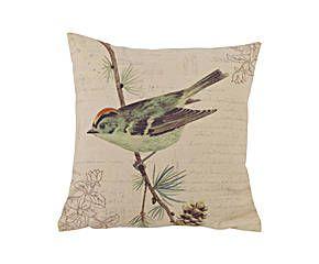 cuscino uccello