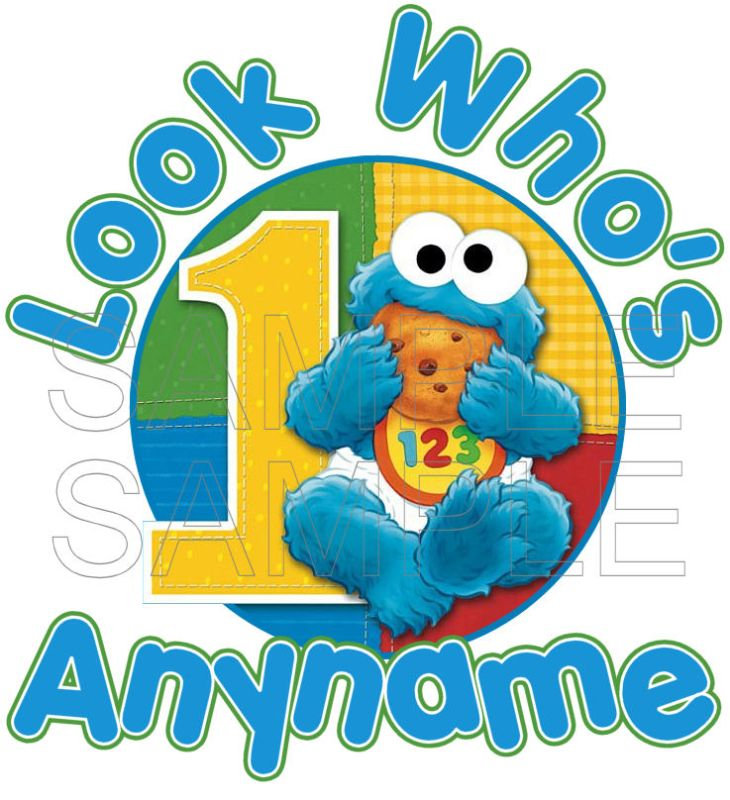 Cookie Monster As A Baby Sesame Street Baby Cookie